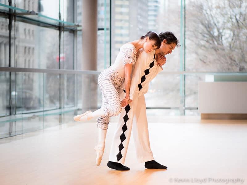 Bouffonia - Dancers - Daniel da Silva and Saniya Abilmajineva - Photo by Kevin Lloyd