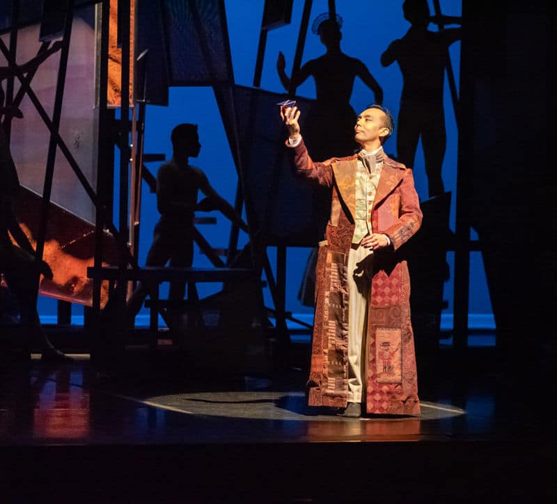 Hiroto Saito as Dr. Coppelius - Photo by Linda Schettle Photography
