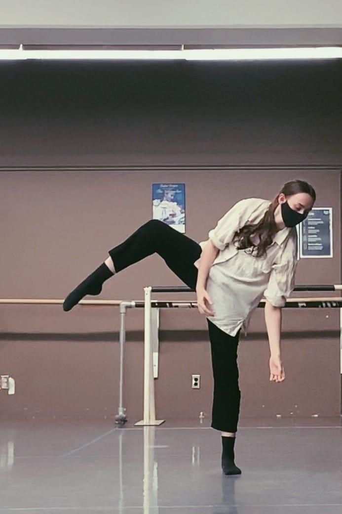P105 Dance Performance – Class of 2021, Charlotte Green, George Brown Dance, Ballet Jörgen